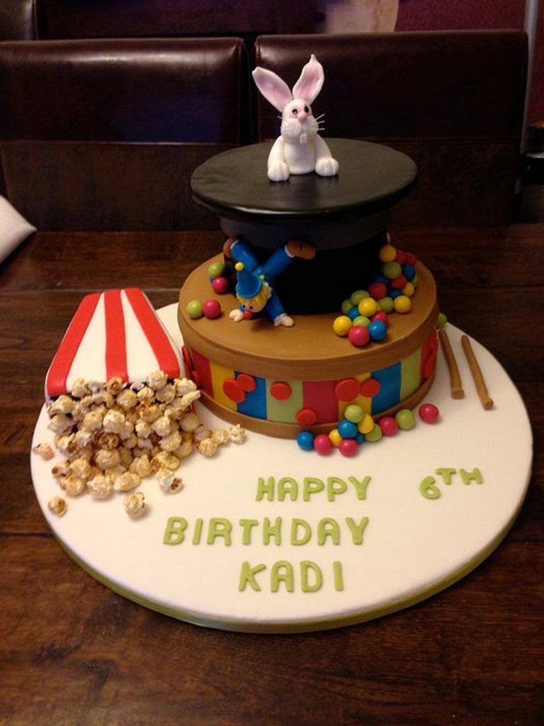 Circus cake by Joanne salt