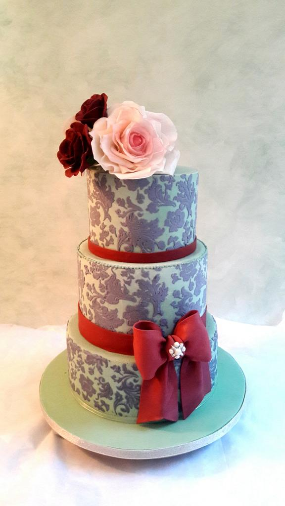 Blue Damask. by SoniaL