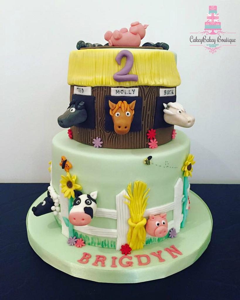 Farmyard Cake by CakeyBakey Boutique