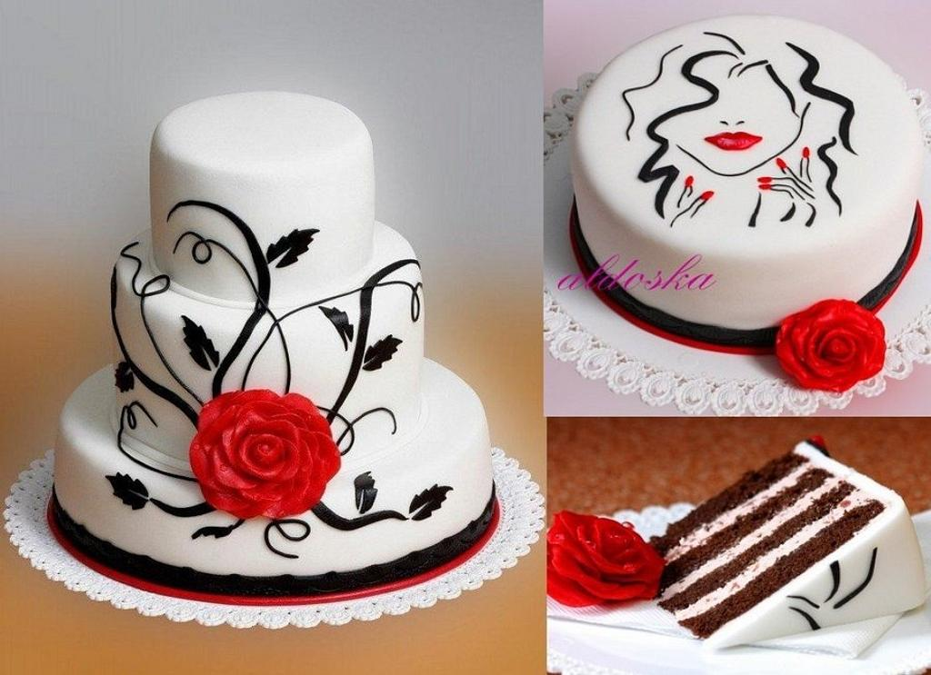 Two cakes by Alena