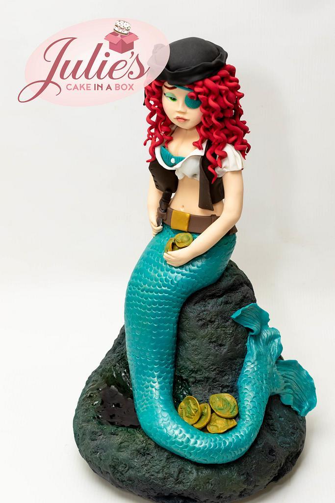 Sugar Pirates - Mermaid Pirate by Julie's Cake in a Box