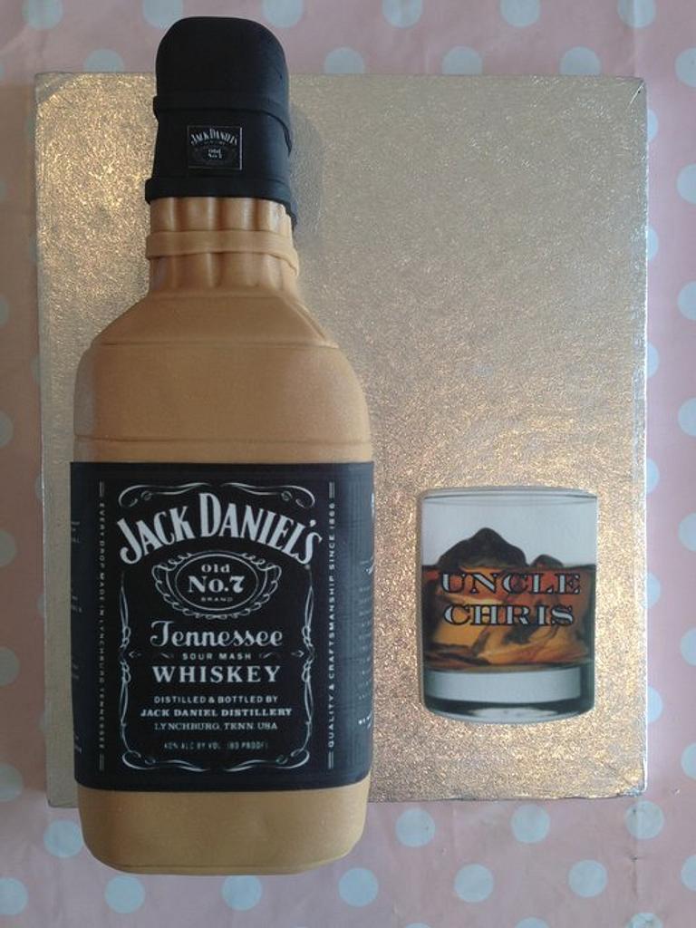 Bottle of Jack Daniels cake by Sugar Sweet Cakes