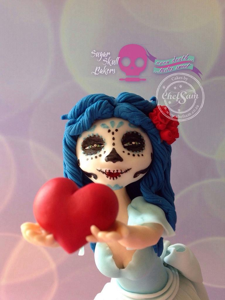Sugar Skull Bakers Collab 2015 by chefsam