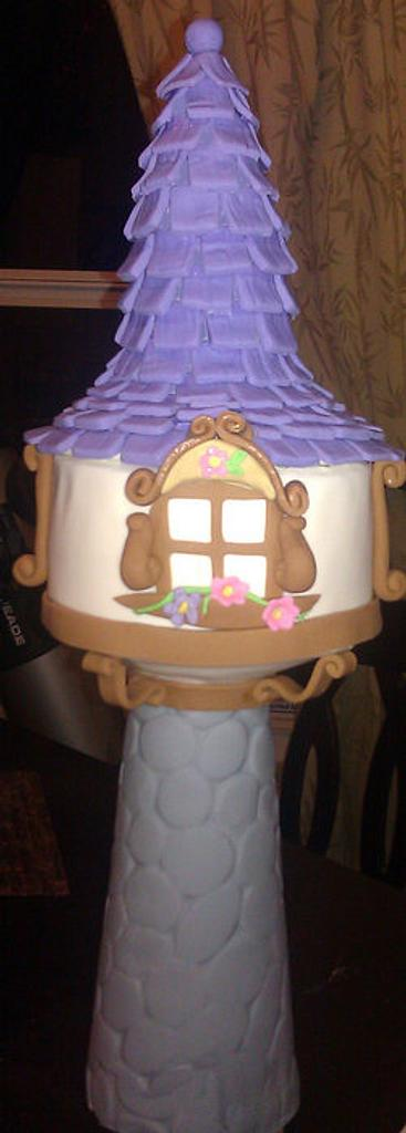 Tangled Tower by Cakery Creation Liz Huber