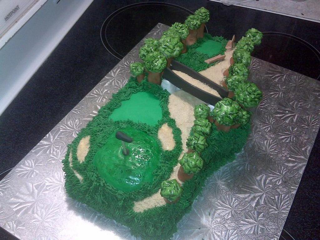 60th Birthday Cake by Crystal Davis