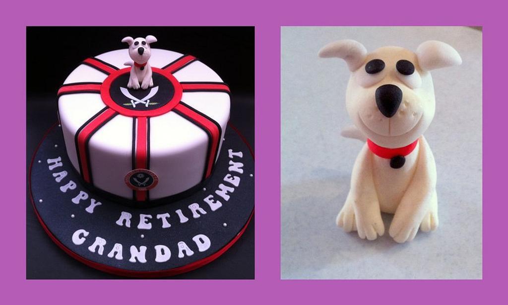 Sheffield United Themed Cake by Chocomoo