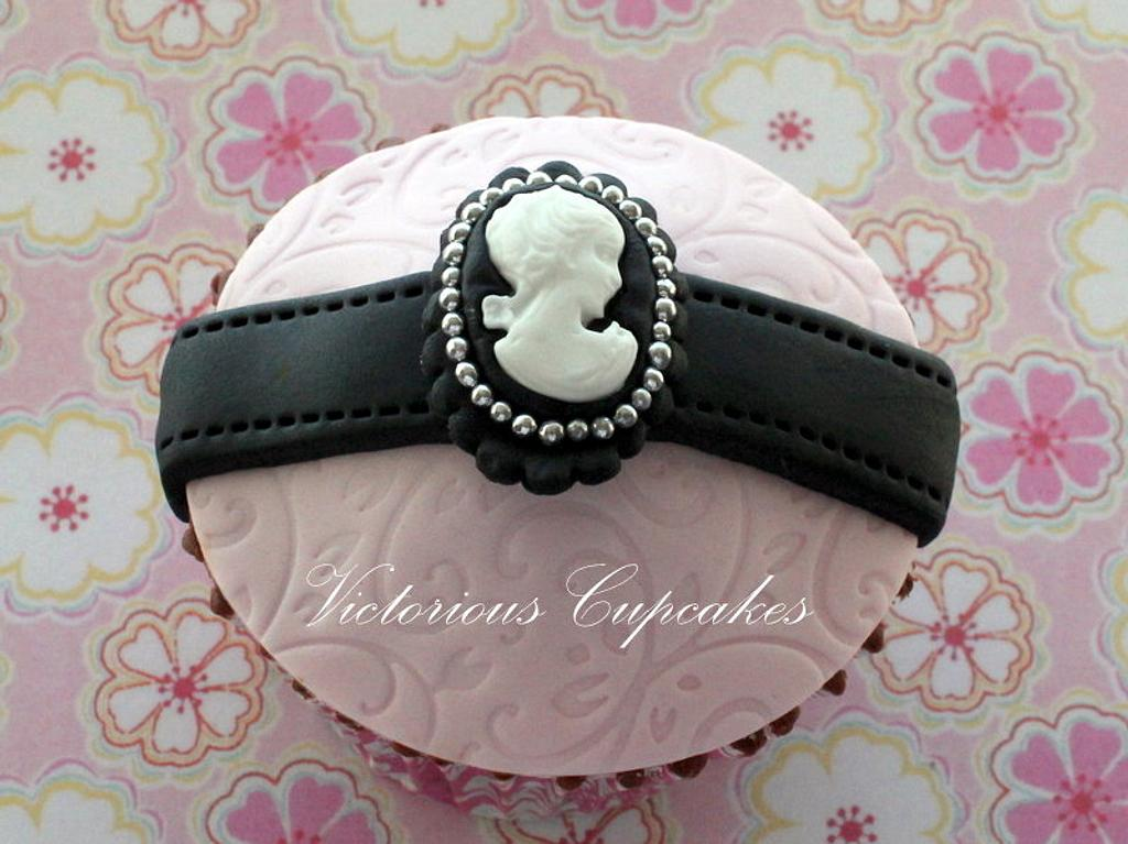 Cameo Cupcake by Victorious Cupcakes