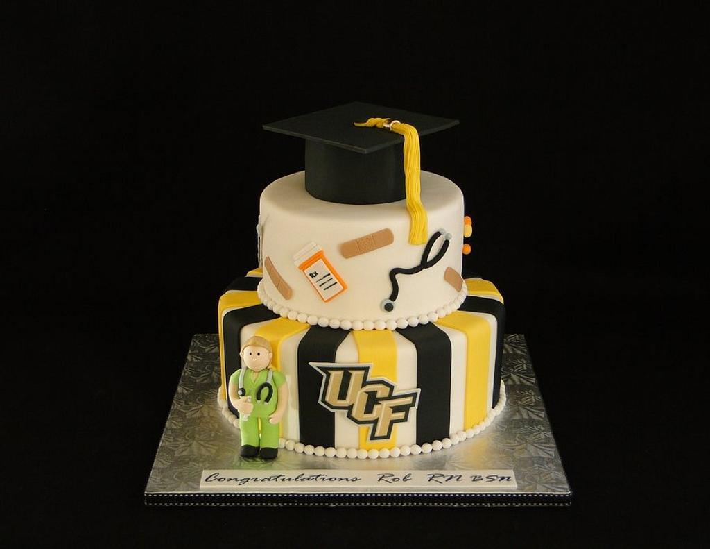 Nursing UCF graduation by Elisa Colon