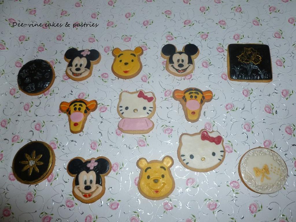 disney cookies by Doyin