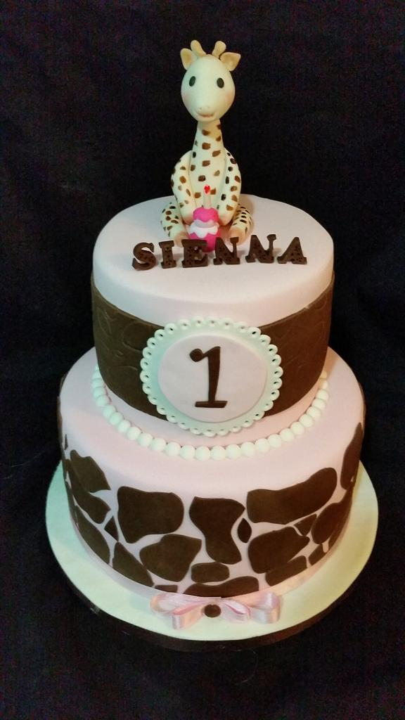 Sophie cake!!! by DeliciasGloria
