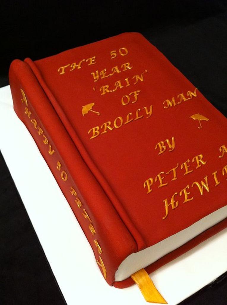 book cake by sasha