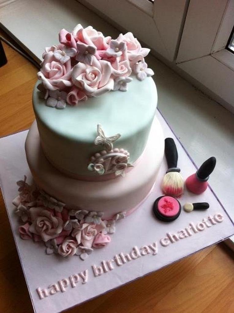 Girlyn18th birthday cake by missbrianab