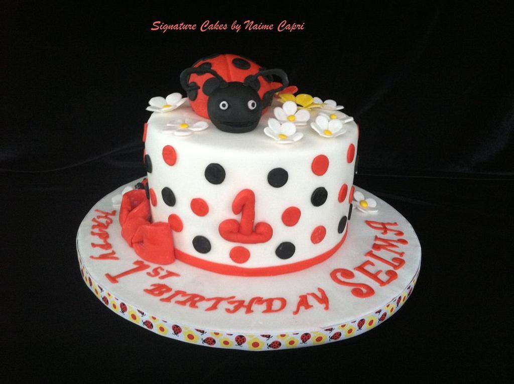 Lady Bug Themed Cake by SignatureCake