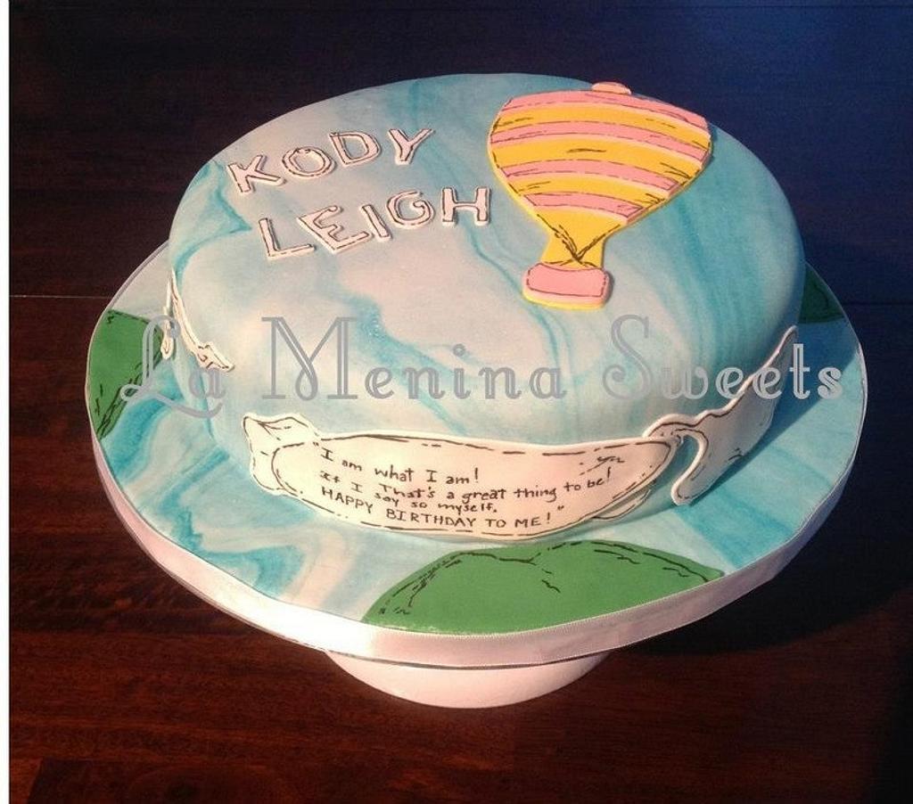 Dr. Seuss inspired cake by Cristi
