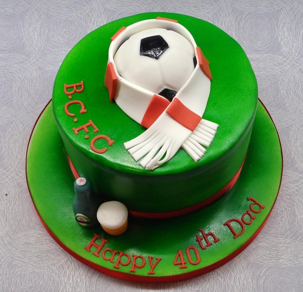 Football cake by That Cake Lady