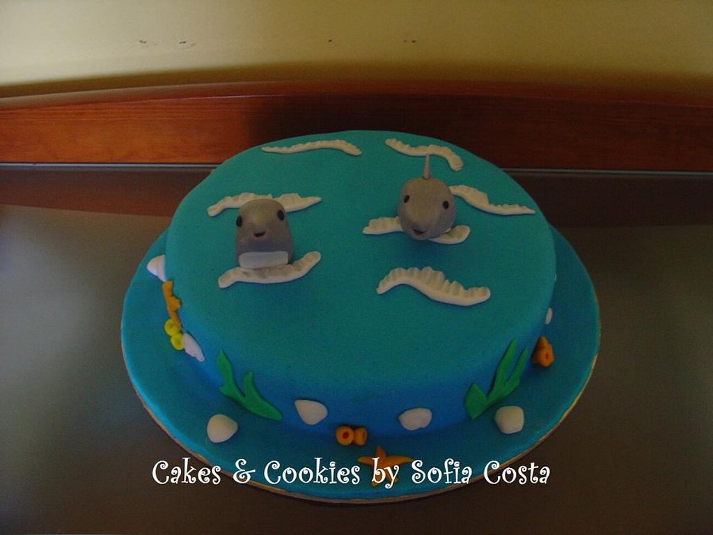 Dolphin cake by Sofia Costa (Cakes & Cookies by Sofia Costa)