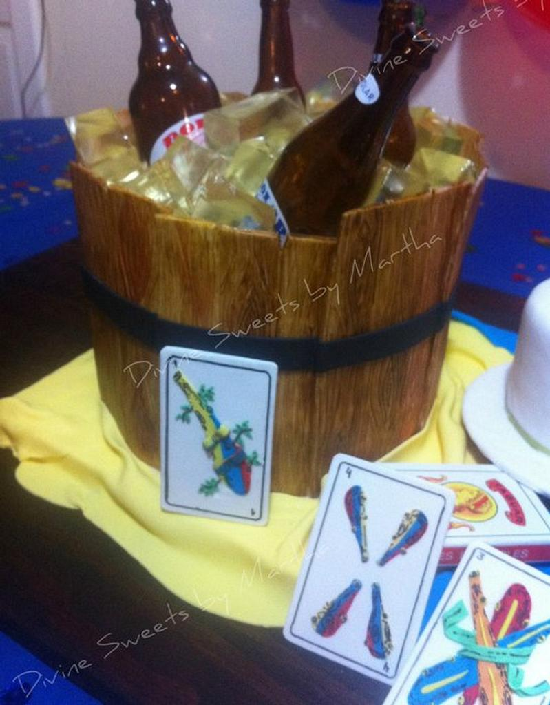 Beer Barrel by Martha Chirinos Teruel