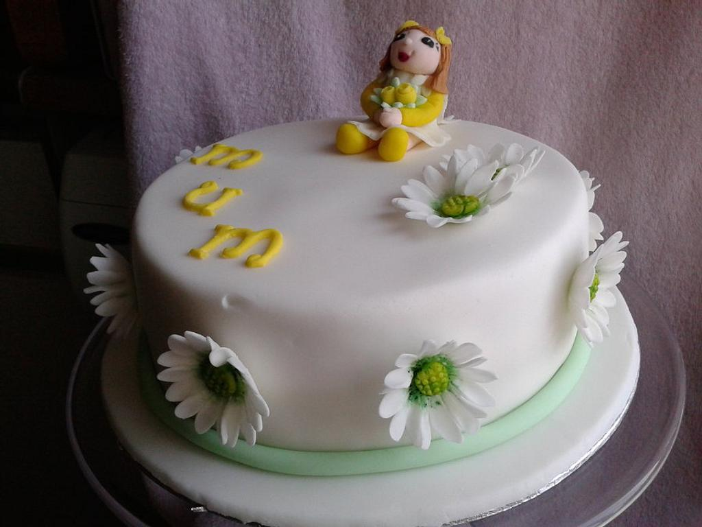 daisy doll cake by Love it cakes
