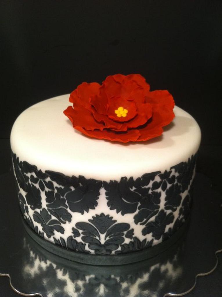 Damask Cake by Nikki Belleperche
