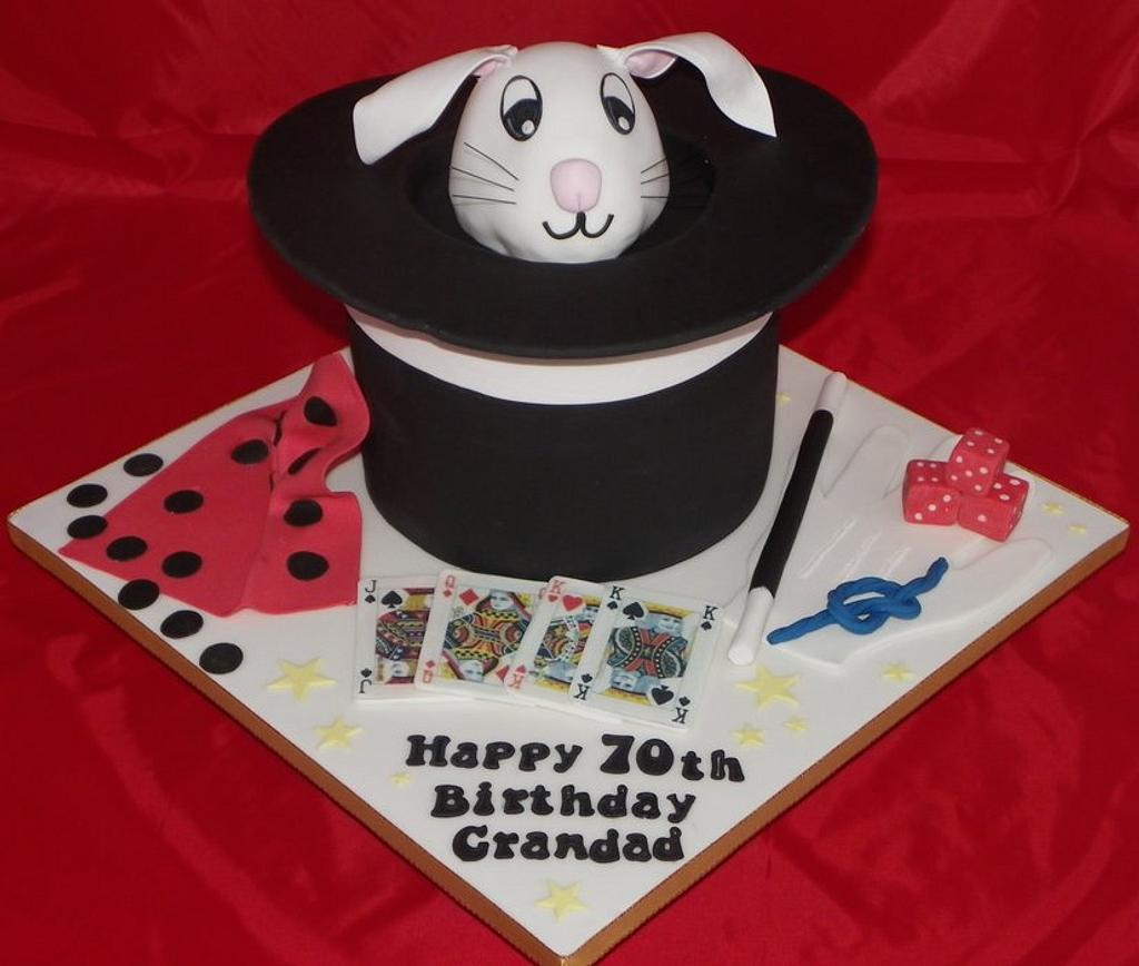 Magician Cake by Kazmick