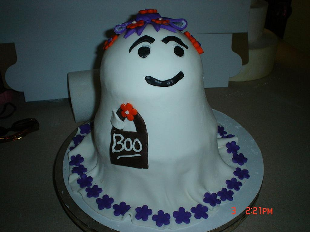 Ghost Diva cake by Dana