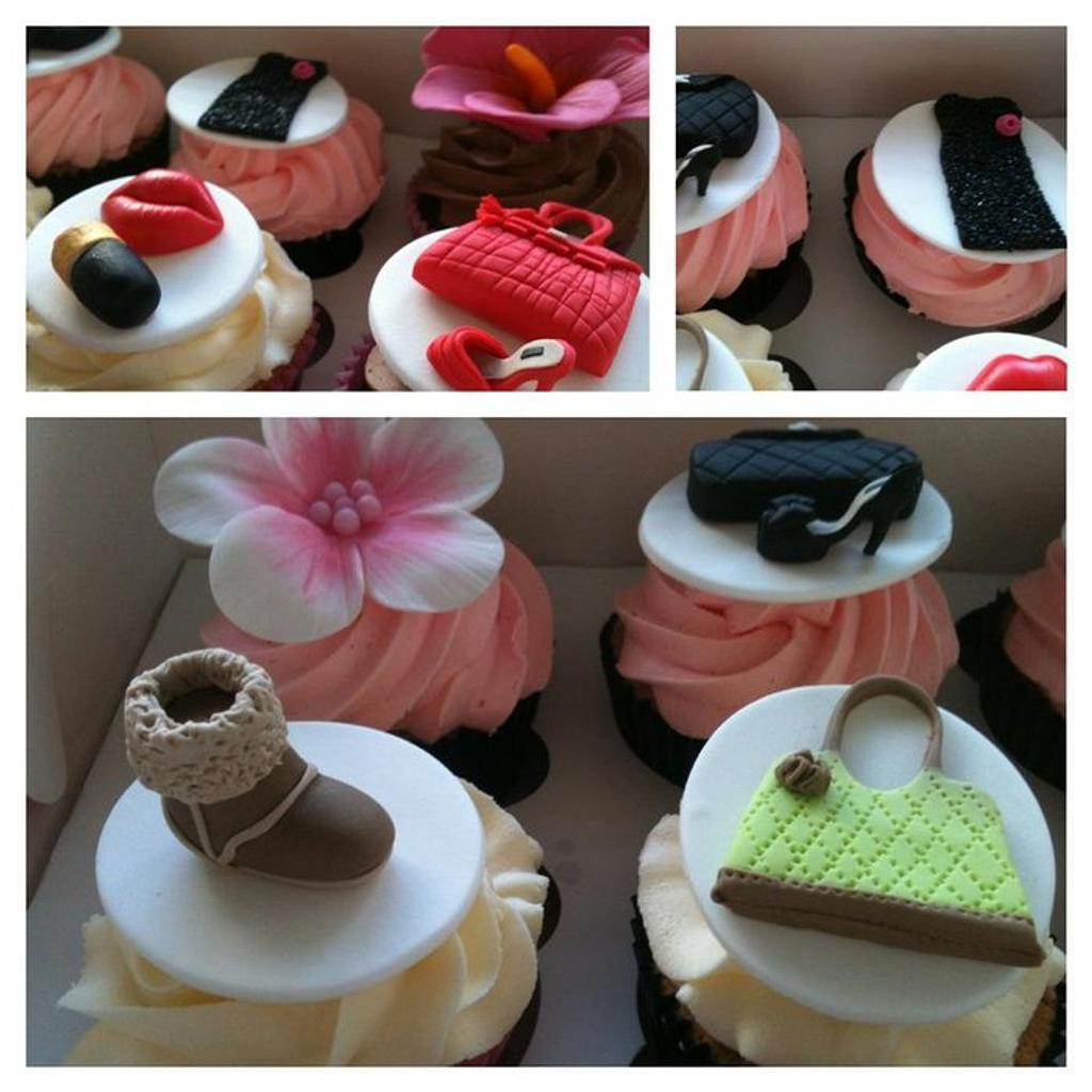 Fashion cupcakes by Sue