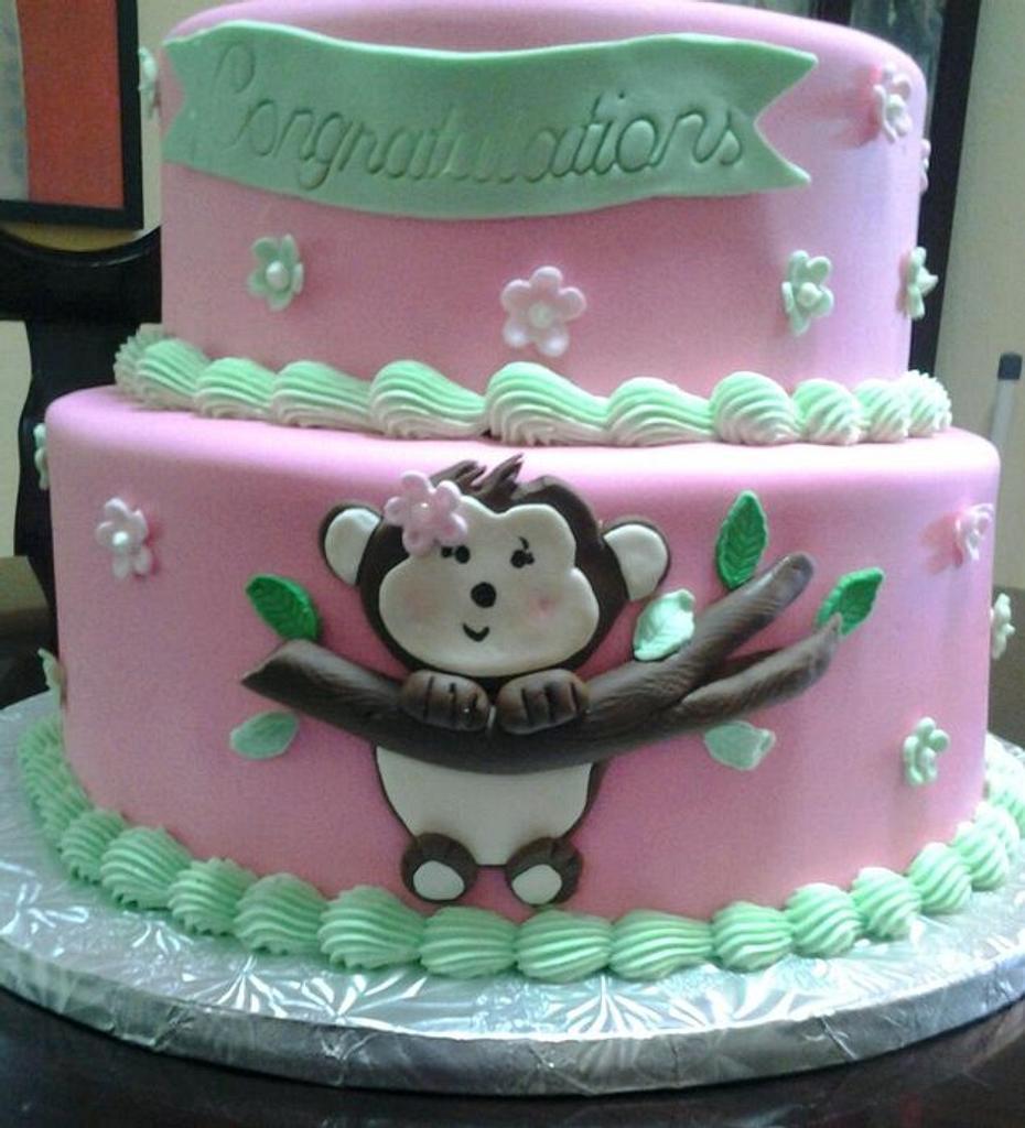 Monkey Cake by Rosa