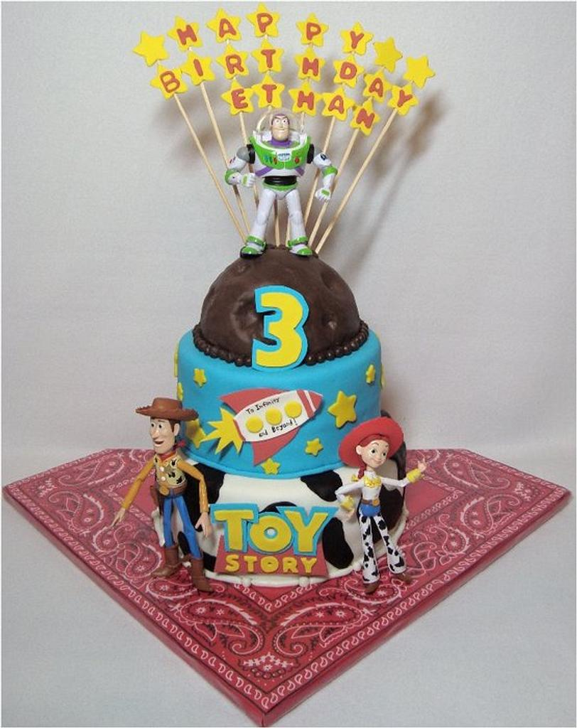 Toy Story 3 by Toni (White Crafty Cakes)