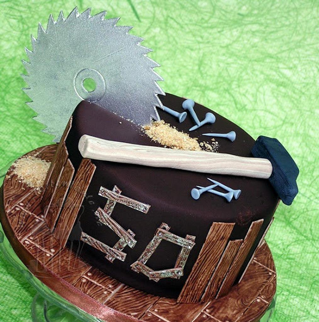 Carpenter cake by Monika