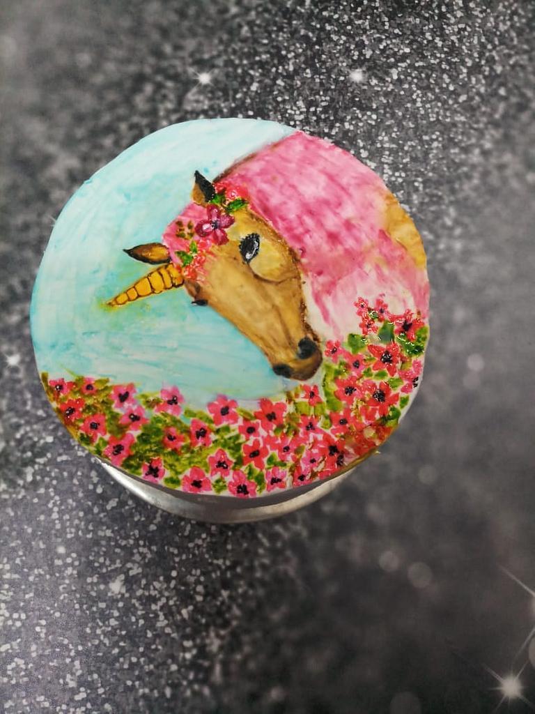 Unicorn  by aayotee mukhopadhyay