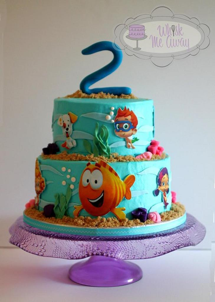 Bubble Guppies cake by Sarah F
