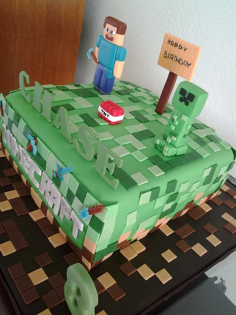 Minecraft by Cakes and Cupcakes by Monika