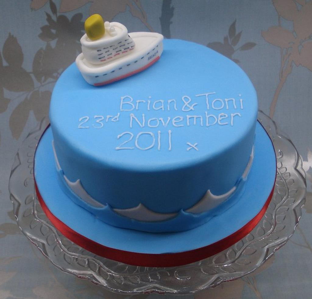 We are sailing! by That Cake Lady