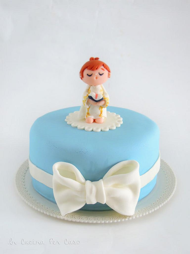 First Communion Cake by Giulia