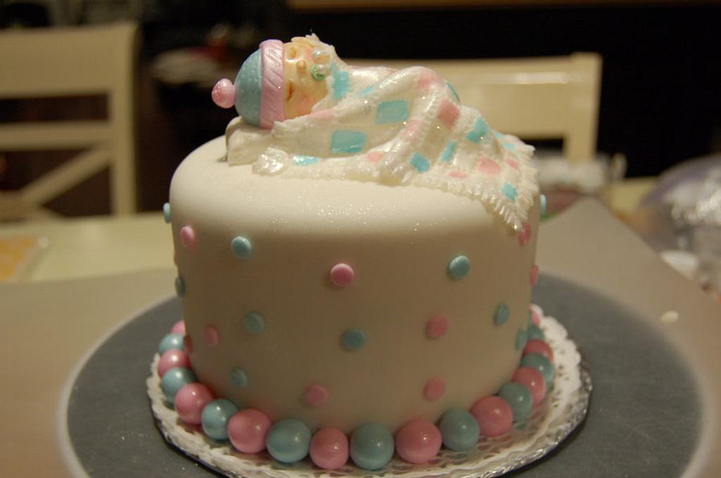 Baby Shower Cake by paula