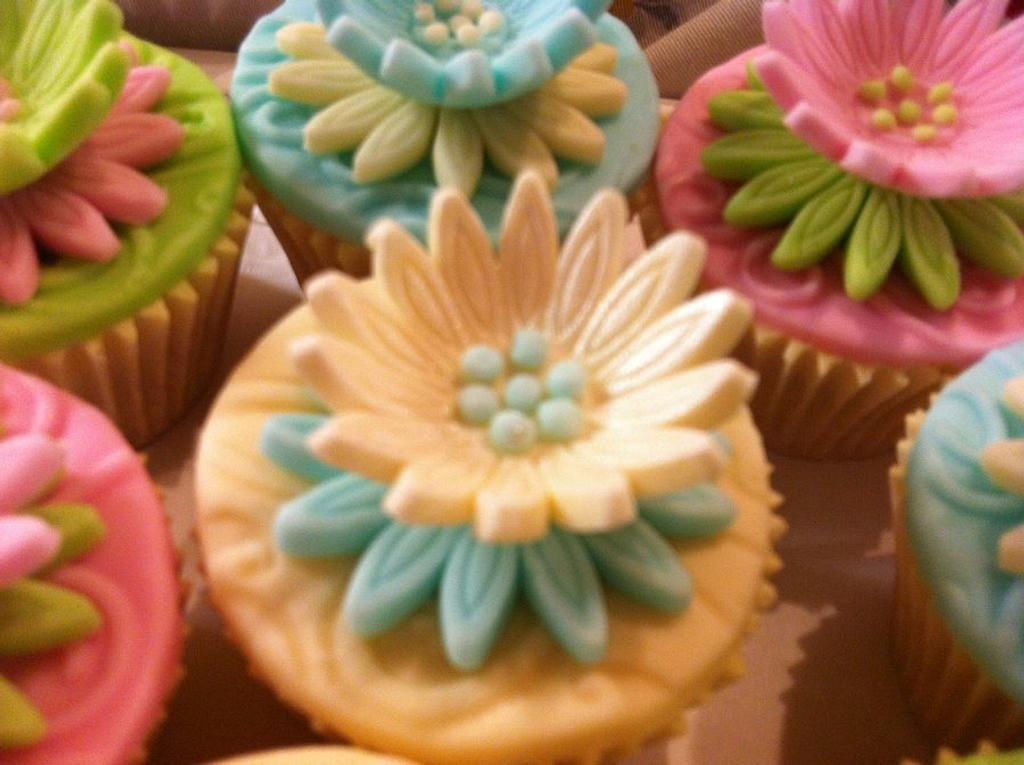spring time cupcakes by Elli Warren