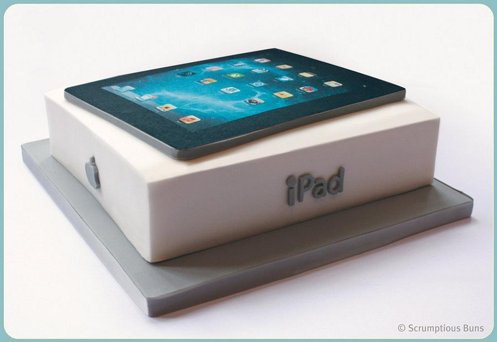 An iPad you can eat! by Scrumptious Buns
