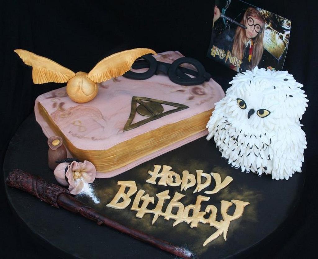 Harry Potter cake by Mafalda Martins