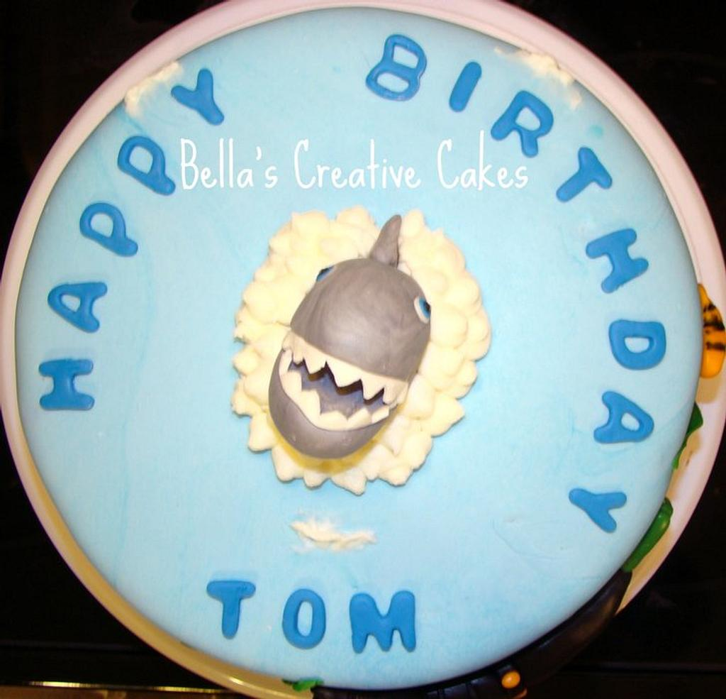 Shark cake by Bela
