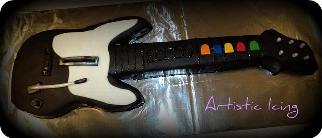 Rockin' Out - Guitar Hero by ArtisticIcingCakes
