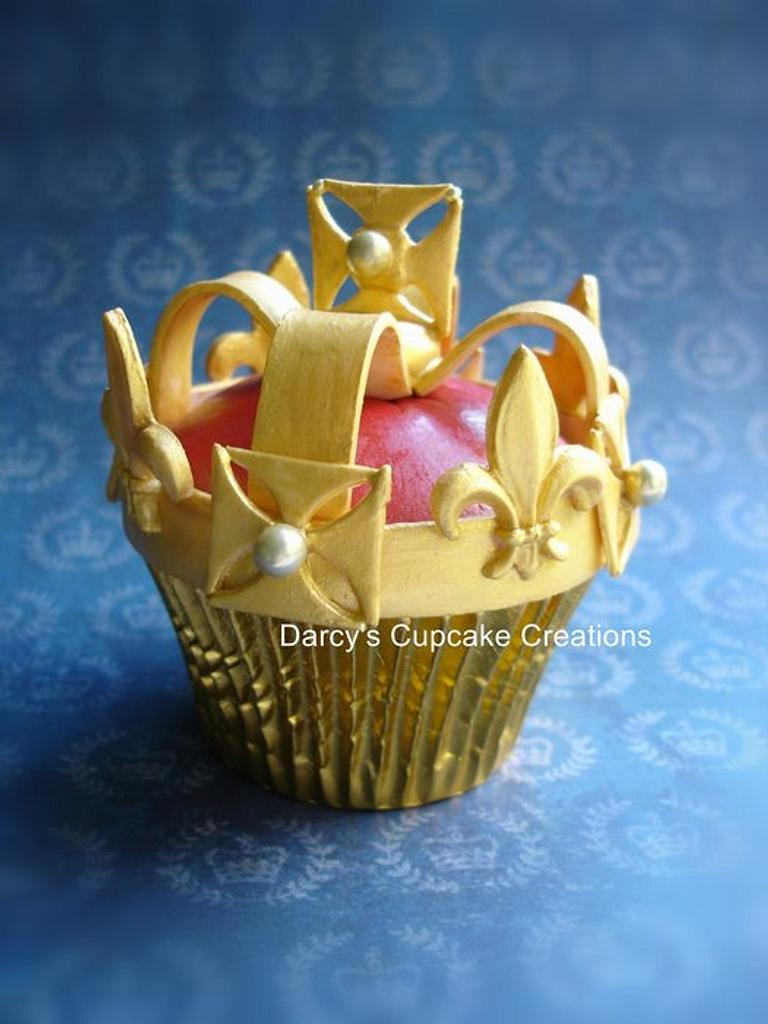 Jubilee cupcake by DarcysCupcakes