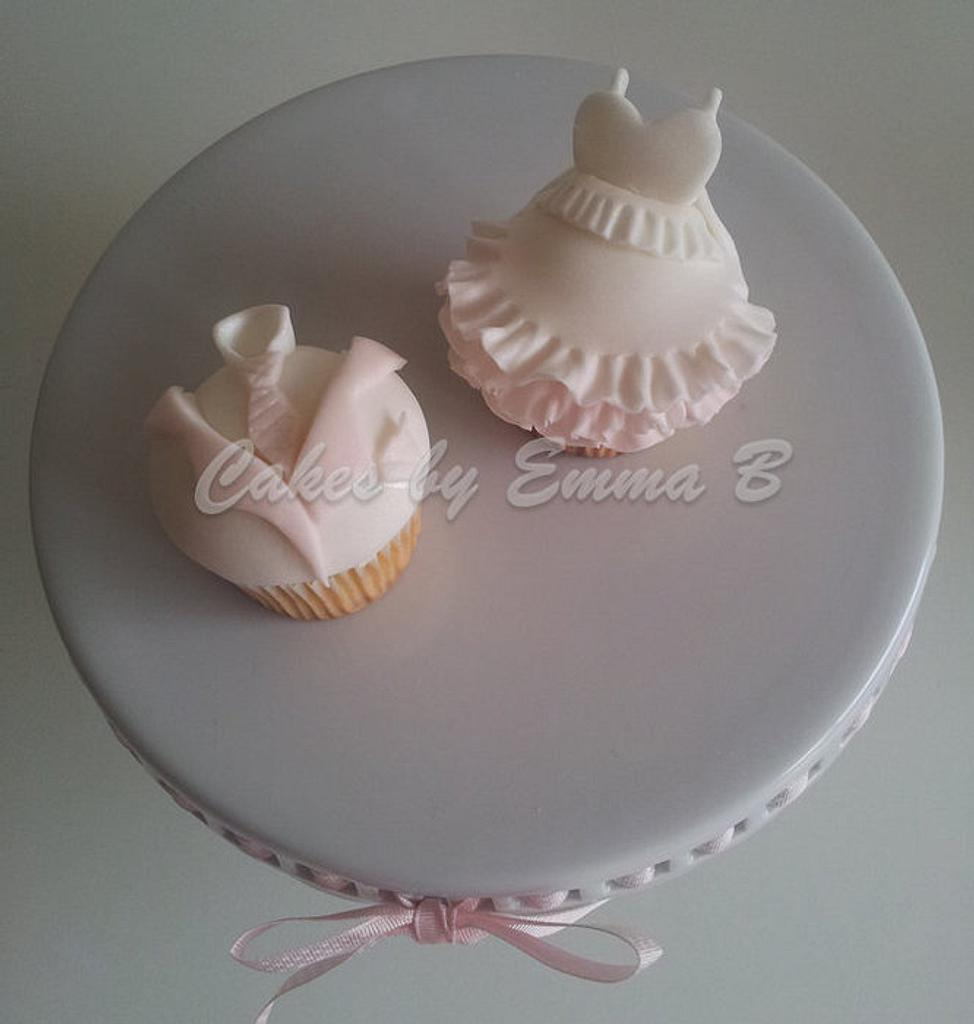 All dressed up cupcakes by CakesByEmmaB