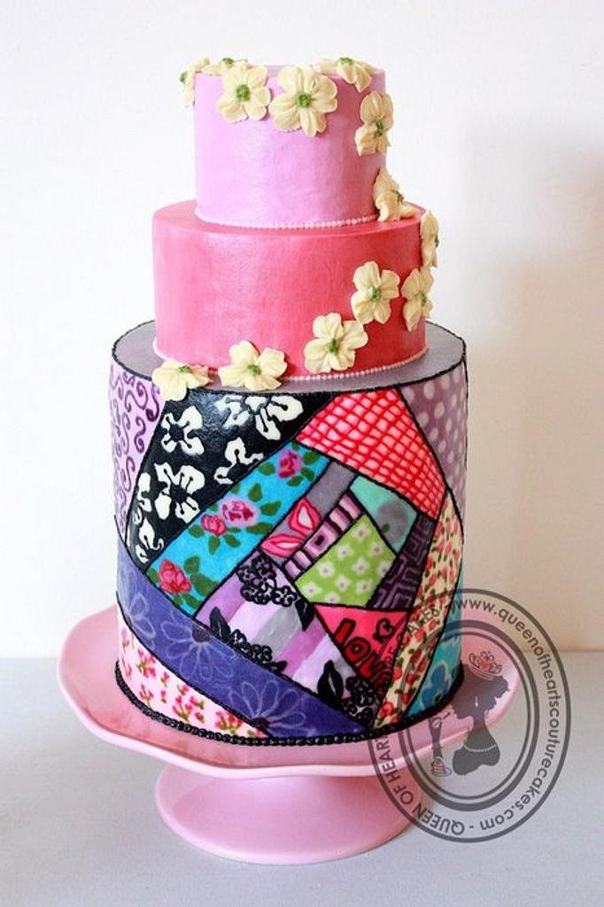 QUILT by Queen of Hearts Couture Cakes