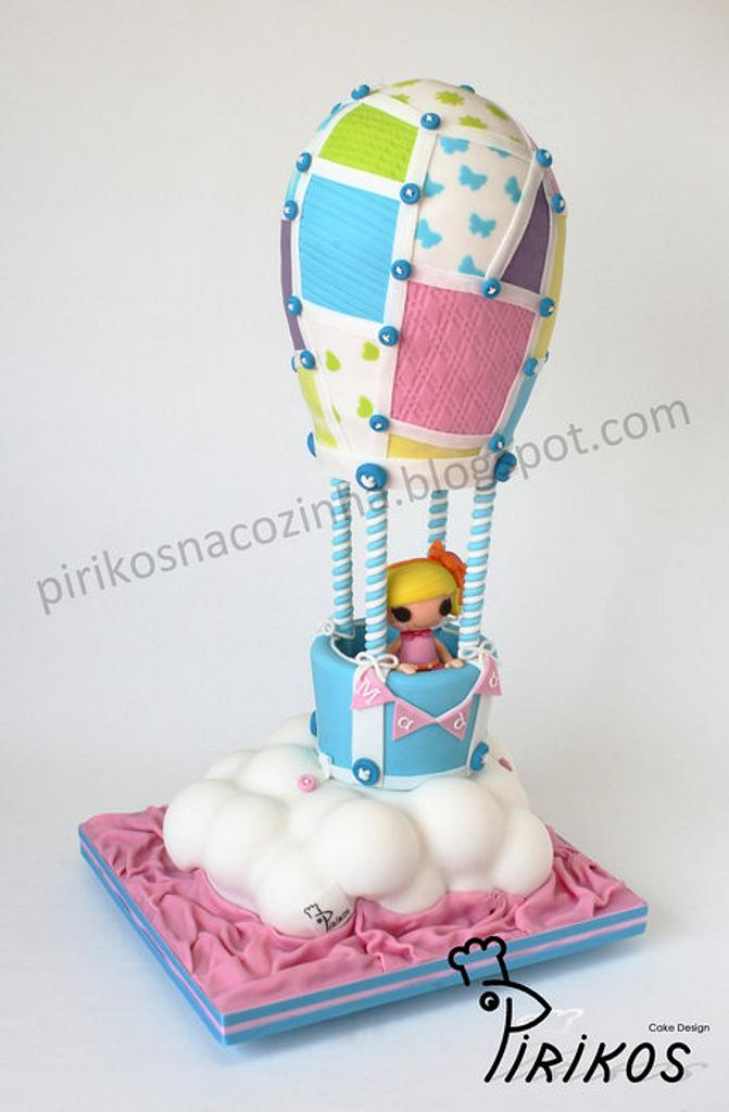 Lalaloopsy in the sky with buttons! by Pirikos, Cake Design