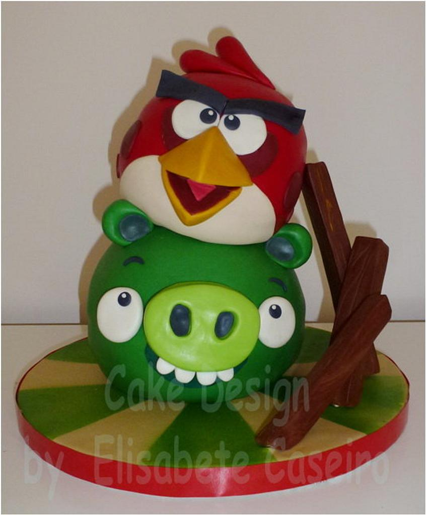 Angry Birds by Bety'Sugarland by Elisabete Caseiro
