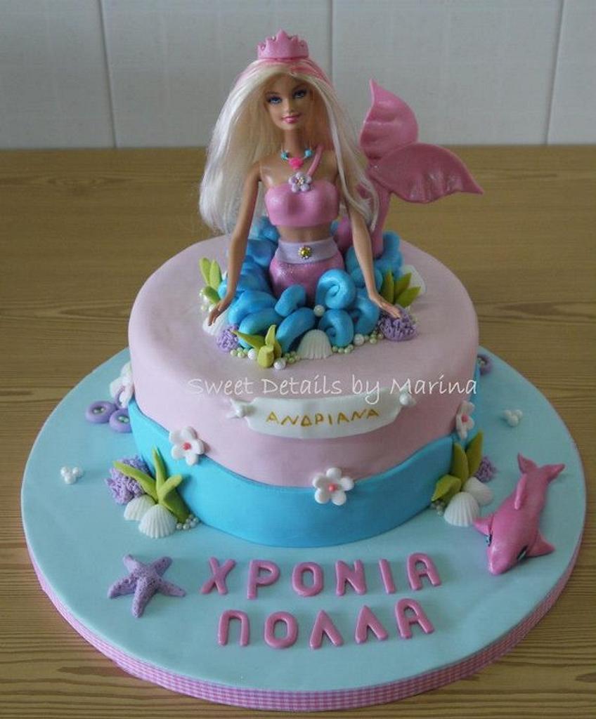 Barbie Merliah theme cake by Marina Costa