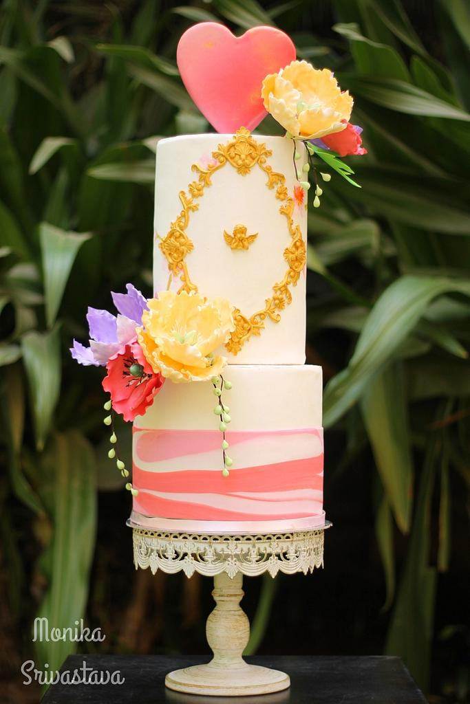 Caker Buddies Valentine Collaboration-February Love by Monika Srivastava