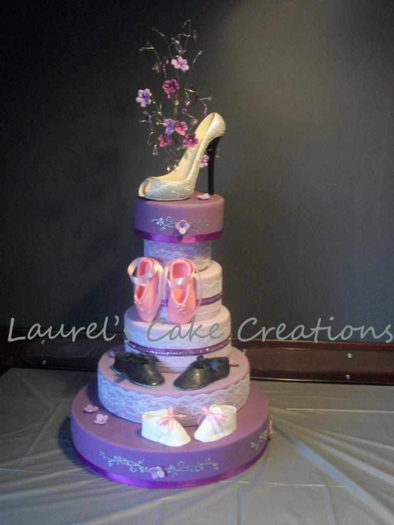 Growing Up In Her Shoes by Laurel's Cake Creations
