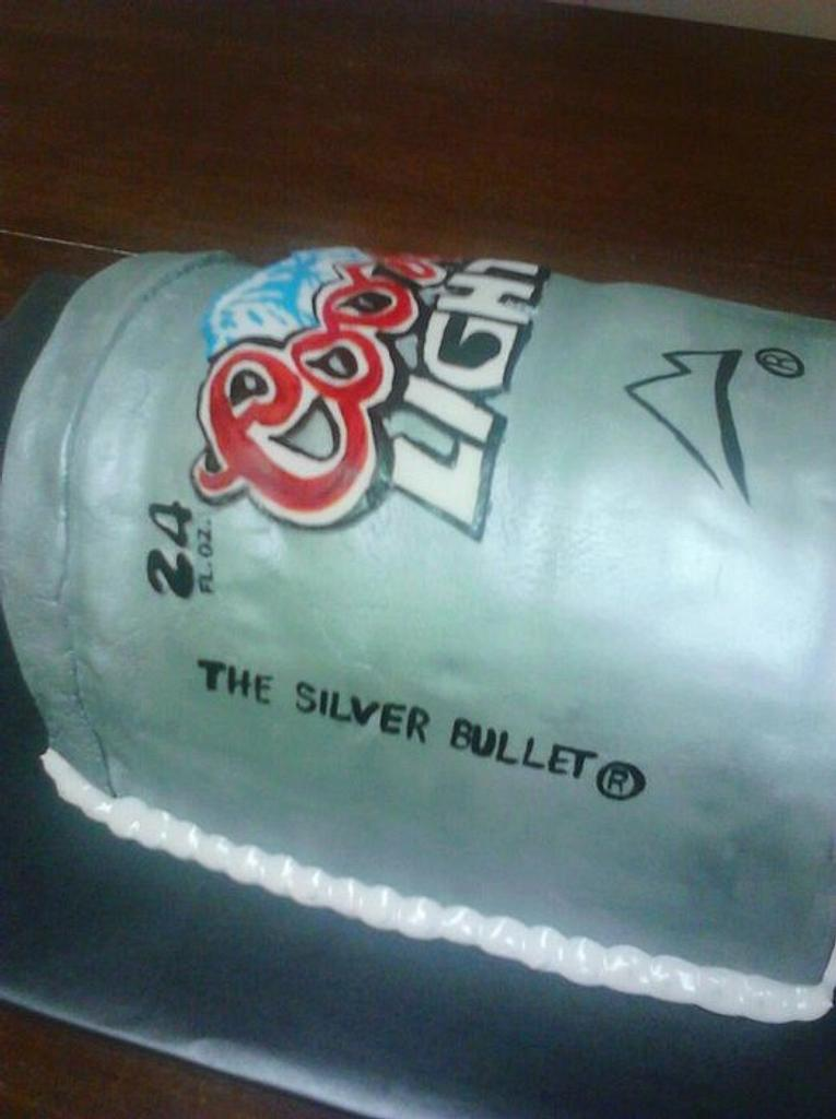 coors light beer can cake  by CC's Creative Cakes and more...