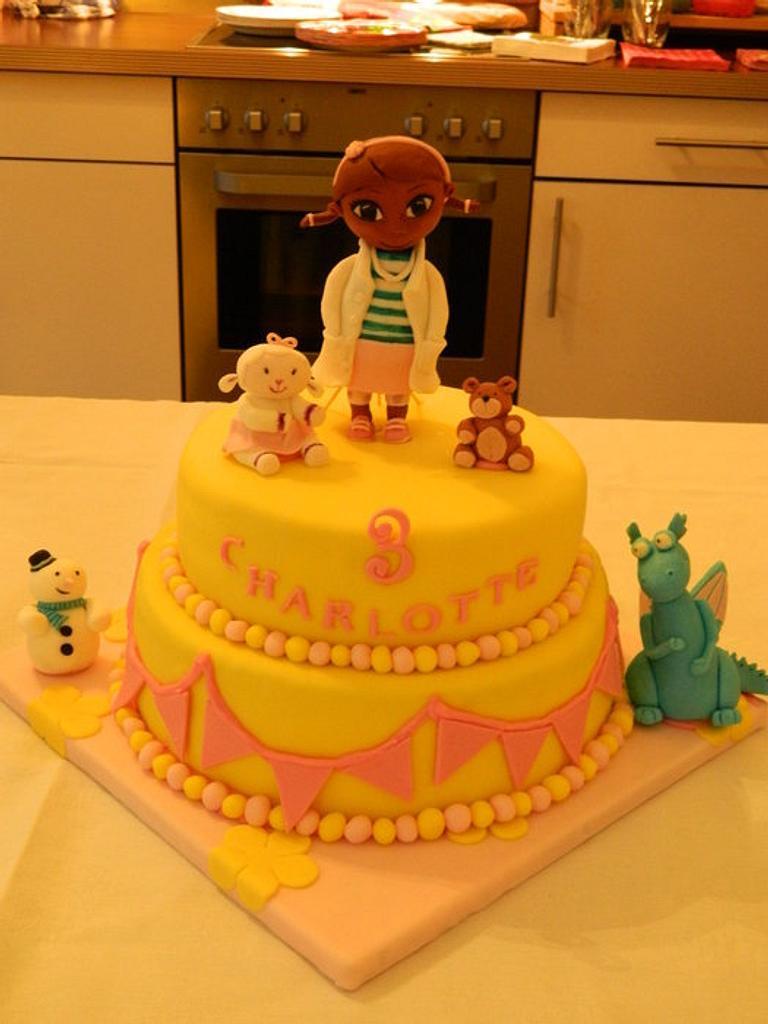 Doc McStuffins Cake by Anne